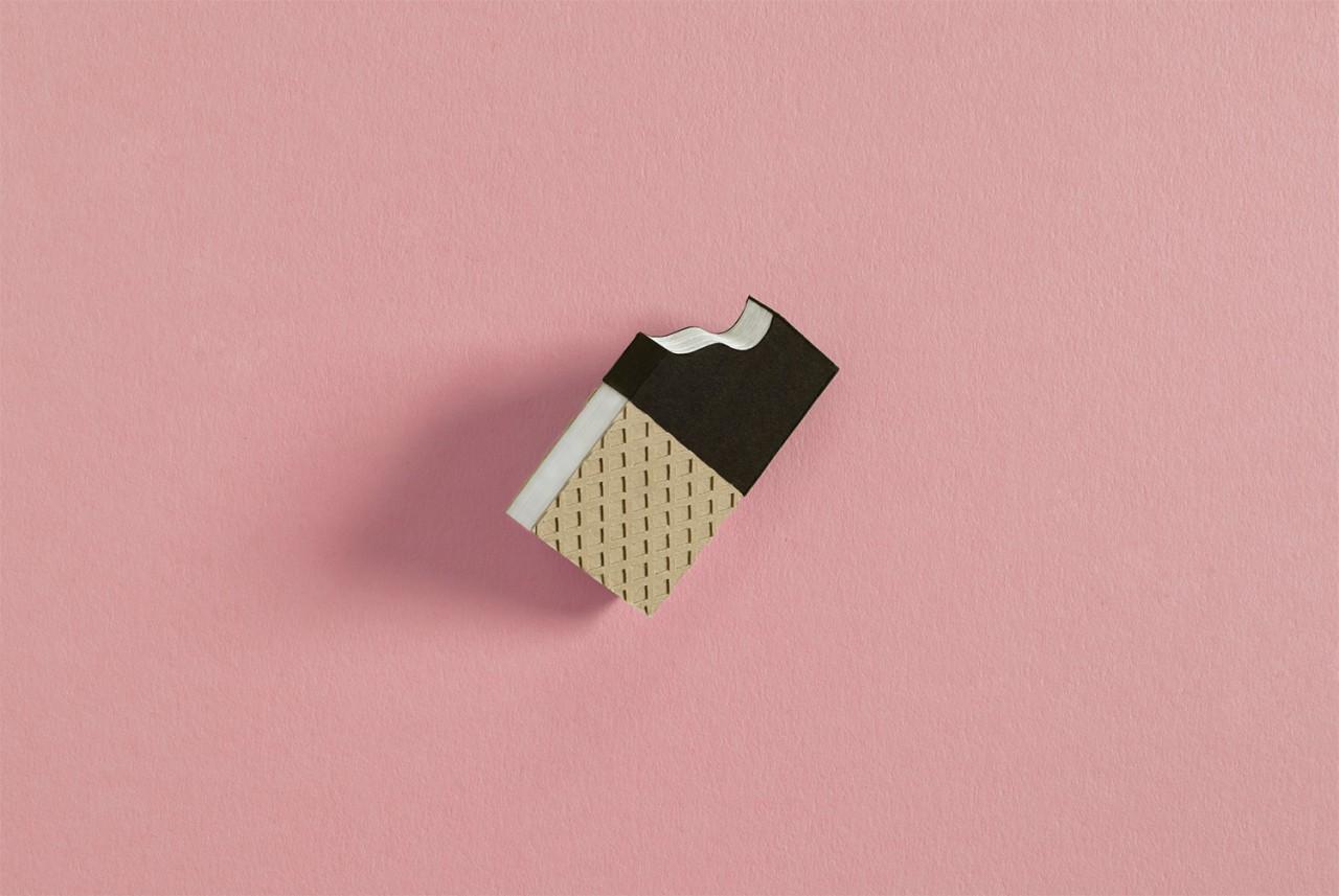 sunda Eisklassiker aus Papier